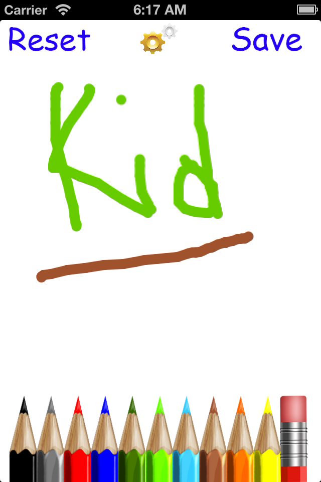 Screenshot iDraw 4 Kids